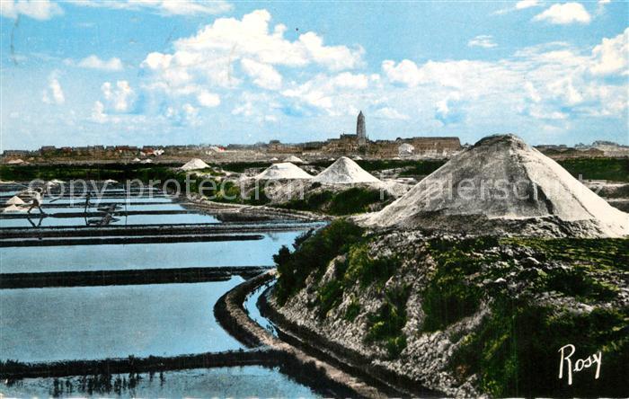 AK / Ansichtskarte Le_Croisic Batz sur Mer Marais salants Mulons de Sel Le_Croisic