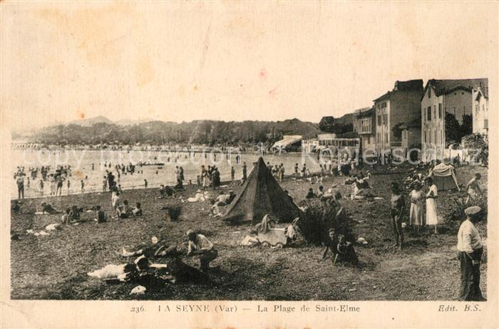 AK / Ansichtskarte La_Seyne sur Mer Plage de Saint Elme  La_Seyne sur Mer