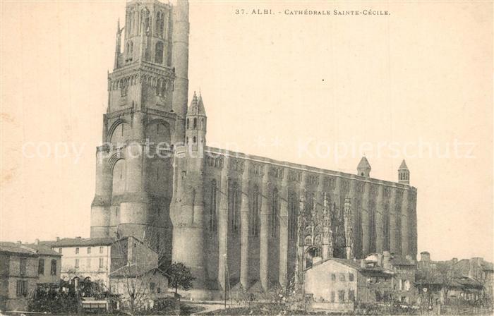AK / Ansichtskarte Albi_Tarn Cathedrale Sainte Cecile  Albi_Tarn 0