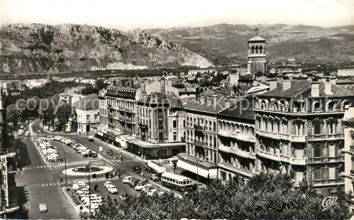 AK / Ansichtskarte Valence_Drome Place de la Republique Crussol Valence_Drome