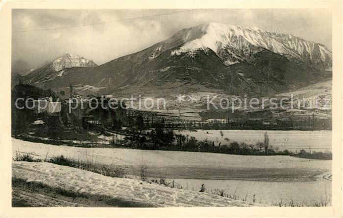 AK / Ansichtskarte Embrun Pic du Clocher et Mont Orel Embrun