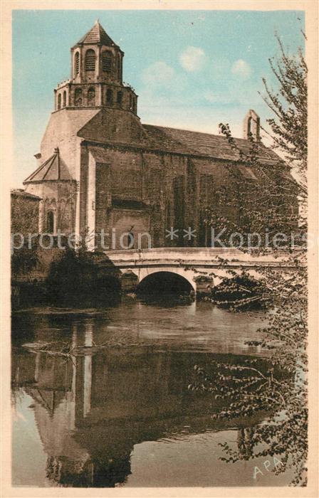 AK / Ansichtskarte Le_Thor Eglise XIIe siecle Le_Thor