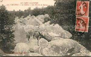 AK / Ansichtskarte Castres_Tarn Mont du Sidobre une riviere de rochers Castres_Tarn