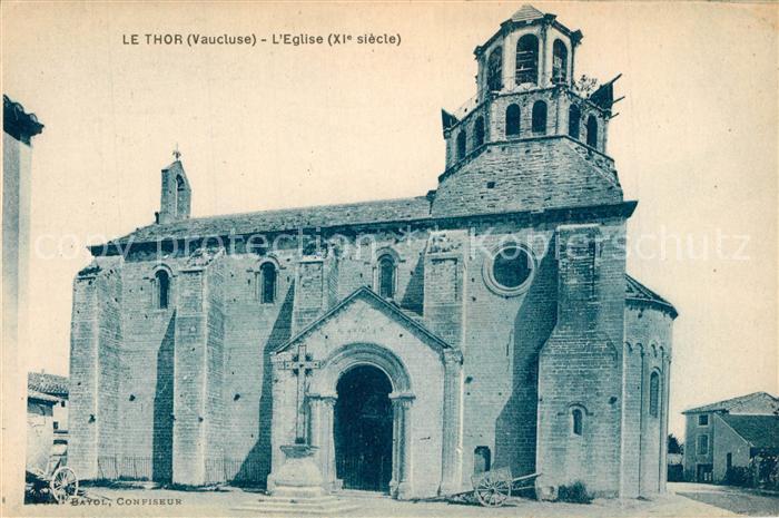 AK / Ansichtskarte Le_Thor Eglise XIe siecle Le_Thor
