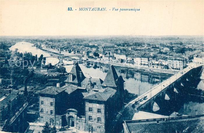 AK / Ansichtskarte Montauban_Tarn et Garonne Vue panoramique