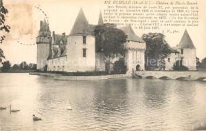 AK / Ansichtskarte Ecuille Chateau de Plessis Bourre Ecuille
