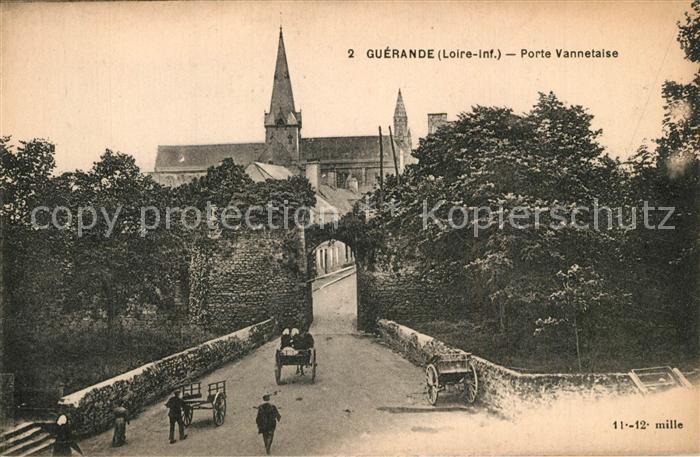 AK / Ansichtskarte Guerande Porte Vannetaise Guerande