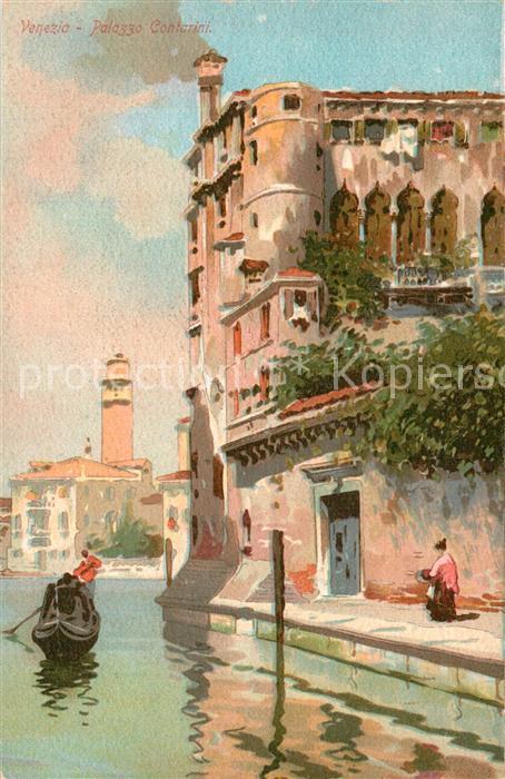 AK / Ansichtskarte Venezia_Venedig Palazzo Contarini  Venezia Venedig