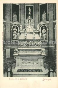 AK / Ansichtskarte Bologna Tomba di S. Domenico  Bologna