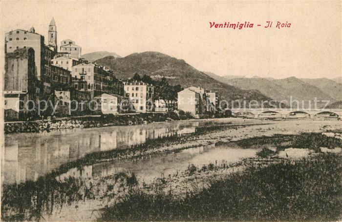 AK / Ansichtskarte Ventimiglia_Liguria Roia