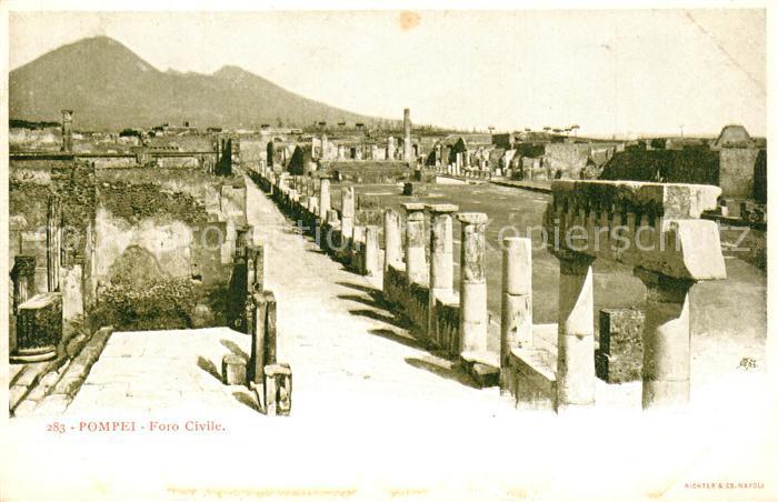 AK / Ansichtskarte Pompei Foro Civile  Pompei