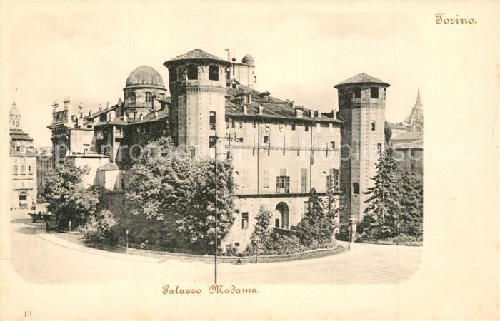 AK / Ansichtskarte Torino Palazzo Madama  Torino