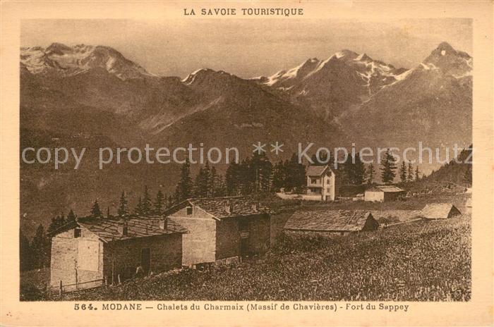 AK / Ansichtskarte Modane Chalets du Charmaix Fort du Sappey  Modane