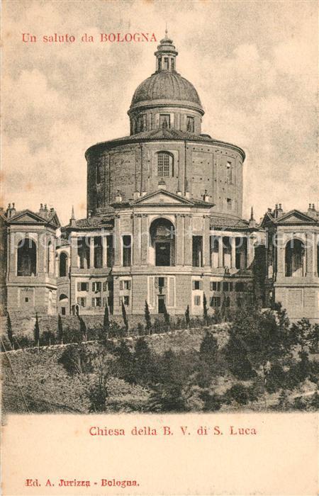 AK / Ansichtskarte Bologna Santuario della Beata Vergine di San Luca Bologna