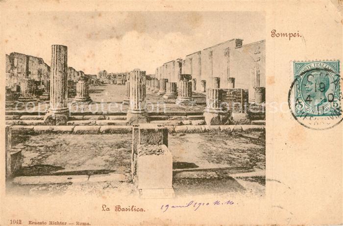 AK / Ansichtskarte Pompei Basilica  Pompei
