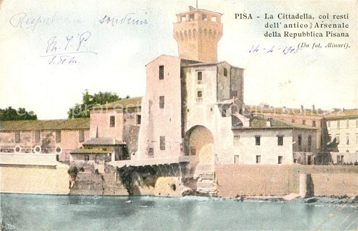 AK / Ansichtskarte Pisa Cittadella Antico Arsenale  Pisa