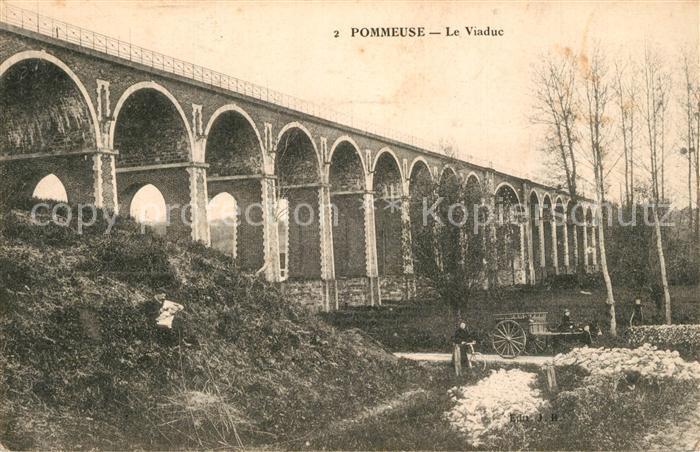 AK / Ansichtskarte Pommeuse Viaduc Pommeuse