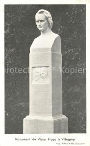 AK / Ansichtskarte Villequier Monument de Victor Hugo Villequier