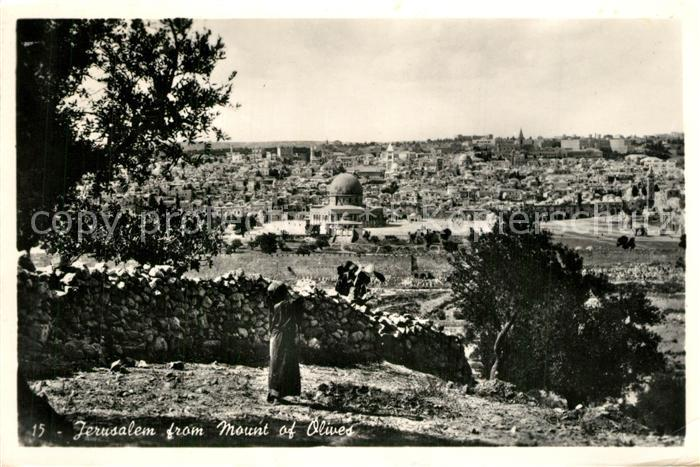 AK / Ansichtskarte Jerusalem_Yerushalayim  Jerusalem_Yerushalayim