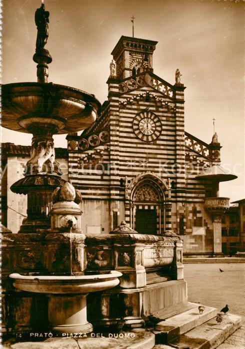 AK / Ansichtskarte Prato_Toscana Piazza del Duomo  Prato Toscana