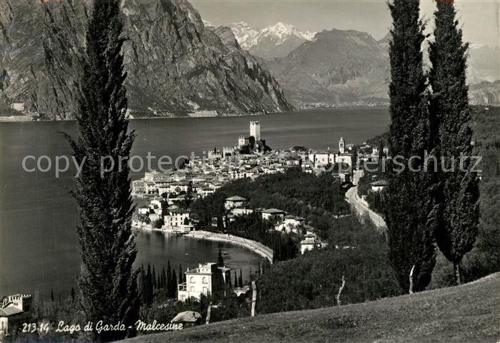 AK / Ansichtskarte Malcesine_Lago_di_Garda  Malcesine_Lago_di_Garda