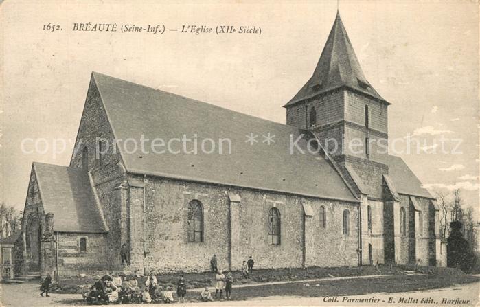 AK / Ansichtskarte Breaute Eglise Kirche Breaute