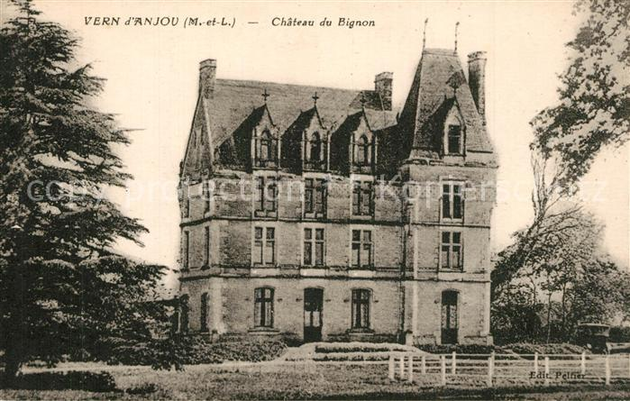 AK / Ansichtskarte Vern d_Anjou Chateau du Bignon Schloss Vern d Anjou