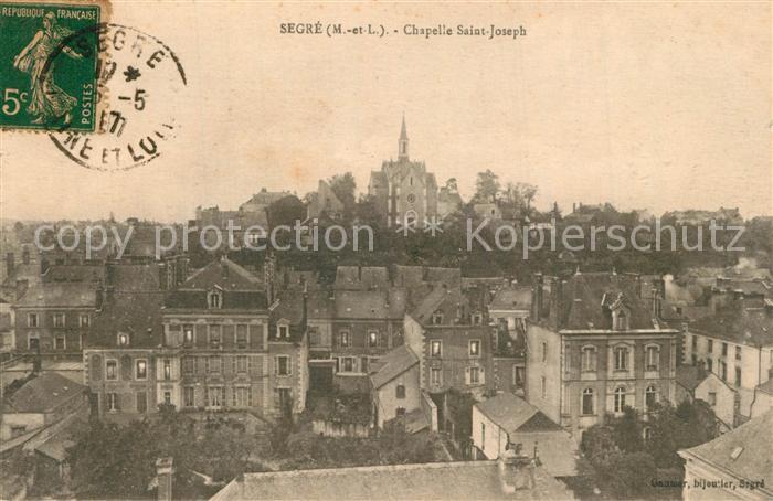 AK / Ansichtskarte Segre Vue generale Chapelle Saint Joseph Segre