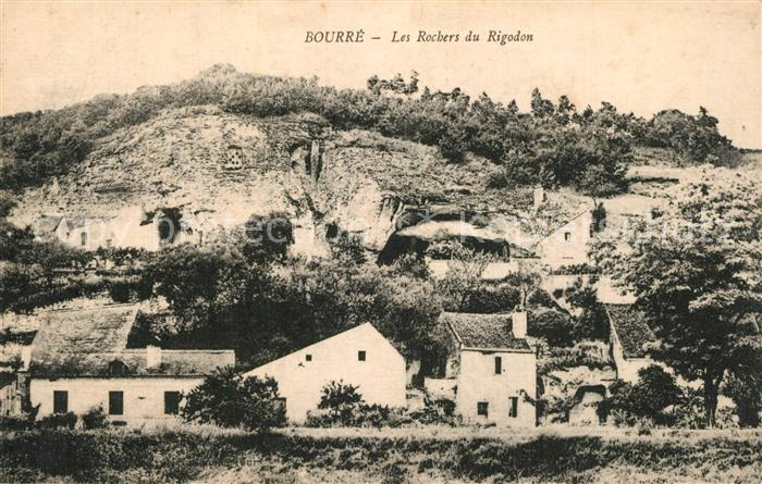 AK / Ansichtskarte Bourre Les Rochers du Rigodon Bourre