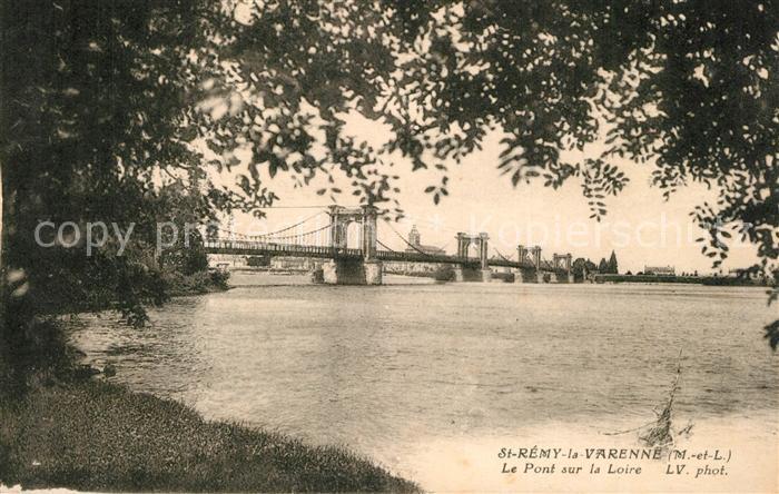 AK / Ansichtskarte Saint Remy la Varenne Pont sur la Loire Saint Remy la Varenne
