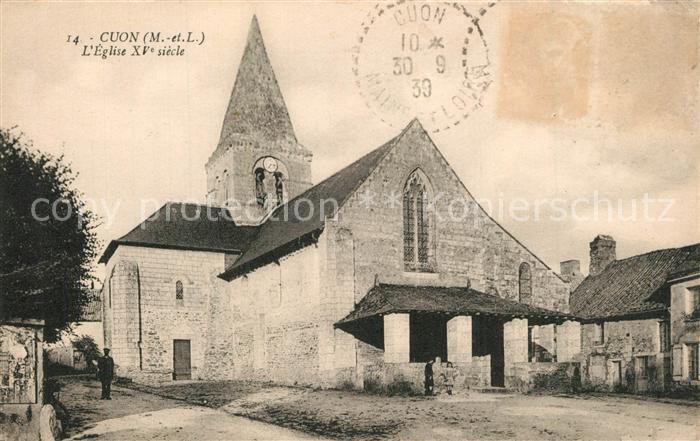 AK / Ansichtskarte Cuon Eglise XVe siecle Kirche Cuon