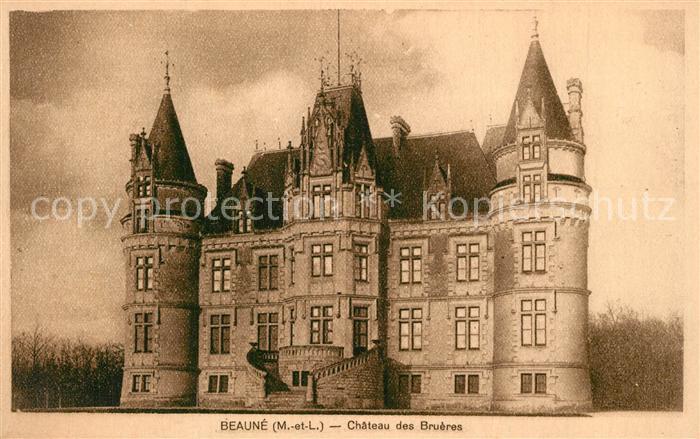 AK / Ansichtskarte Baune Chateau des Brueres Schloss Baune