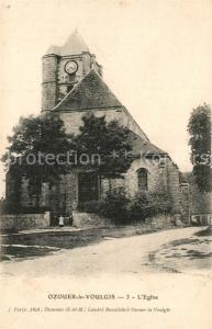 AK / Ansichtskarte Ozouer le Voulgis Eglise Kirche Ozouer le Voulgis