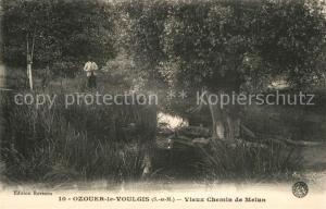 AK / Ansichtskarte Ozouer le Voulgis Vieux Chemin de Melun Ozouer le Voulgis