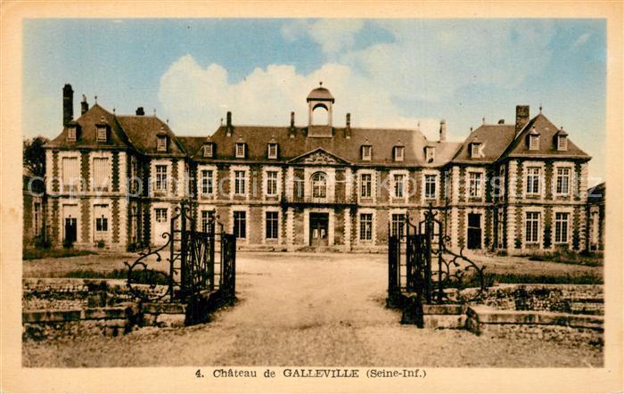 AK / Ansichtskarte Doudeville Chateau de Galleville Schloss Doudeville