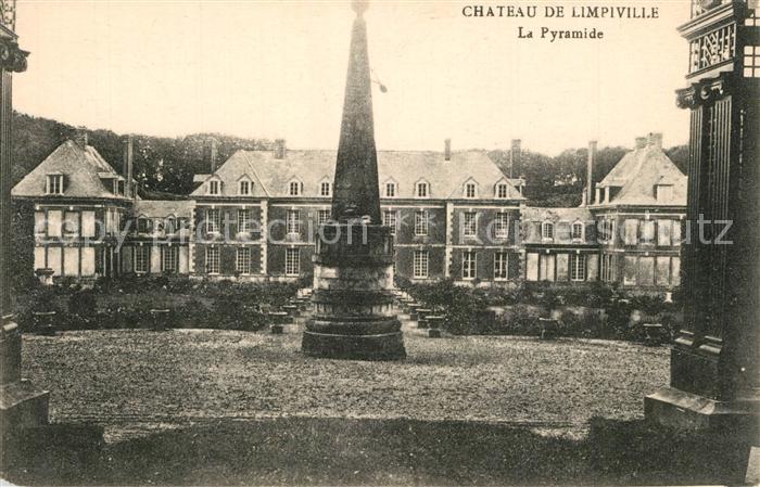 AK / Ansichtskarte Limpiville Chateau Pyramide Schloss Limpiville