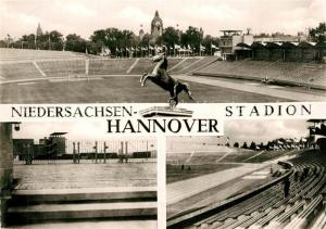 AK / Ansichtskarte Hannover Niedersachsen Stadion  Hannover