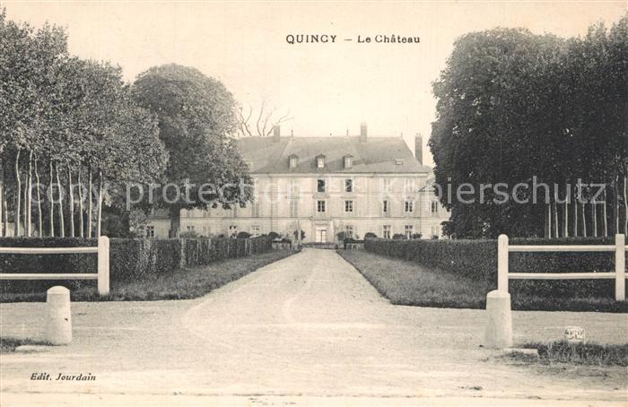 AK / Ansichtskarte Quincy Voisins Chateau Schloss Quincy Voisins