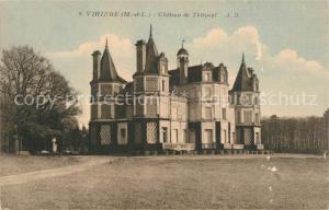AK / Ansichtskarte Vihiers Chateau de Thirpoyl Vihiers