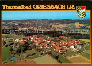 AK / Ansichtskarte Griesbach_Bad Thermalbad Fliegeraufnahme Griesbach_Bad