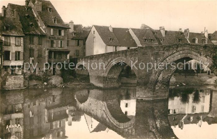 AK / Ansichtskarte Espalion Pont gothique du XIIIe siecle Espalion