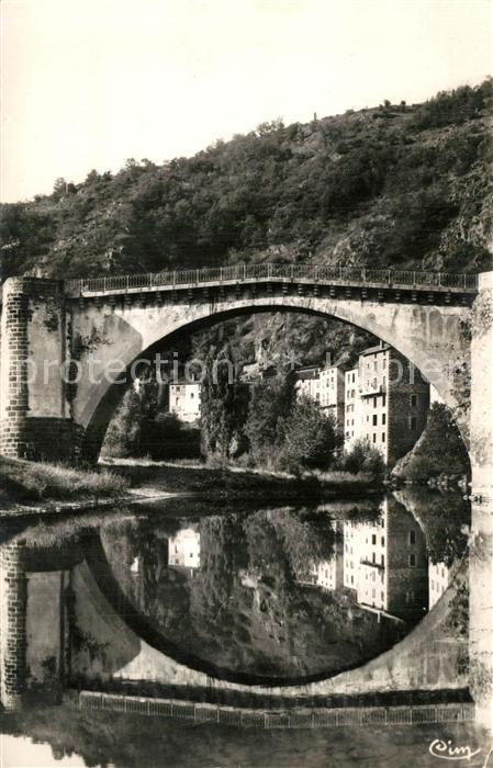 AK / Ansichtskarte Lavoute Chilhac Pont historique du XIe siecle sur l Allier Lavoute Chilhac