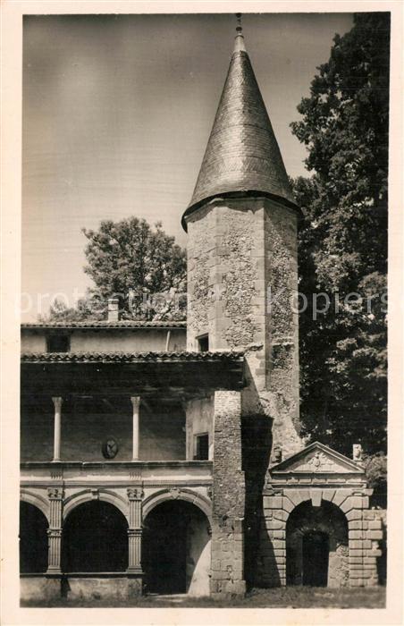 AK / Ansichtskarte Saint Etienne le Molard Chateau de la Batie d Urfe la Tour XVIe siecle Saint Etienne le Molard