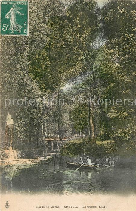 AK / Ansichtskarte Creteil Bords de Marne Creteil