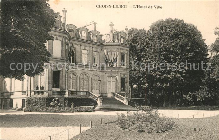 AK / Ansichtskarte Choisy le Roi Hotel de Ville Choisy le Roi