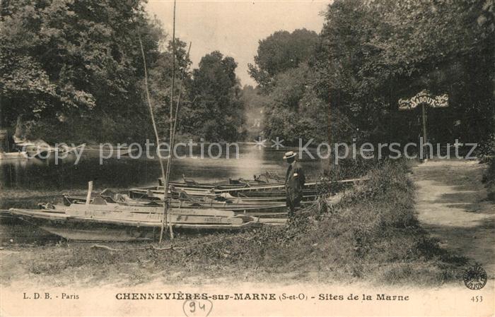 AK / Ansichtskarte Chennevieres sur Marne Sites de la Marne Chennevieres sur Marne