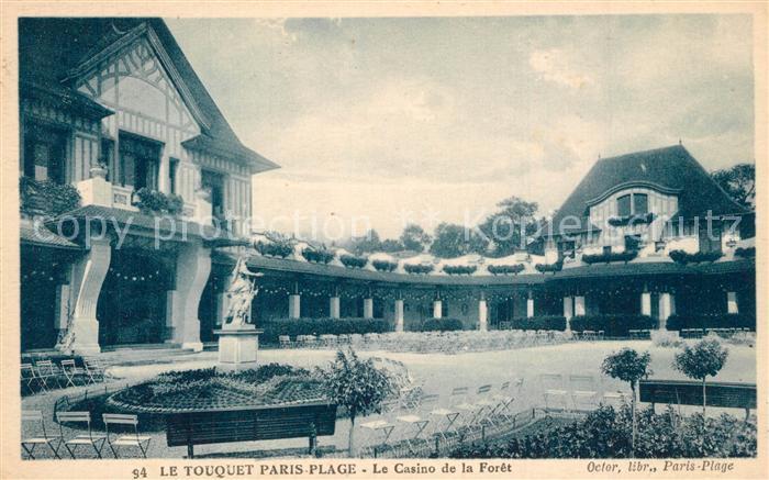 AK / Ansichtskarte Le_Touquet Paris Plage Le Casino de la Foret Le_Touquet Paris Plage