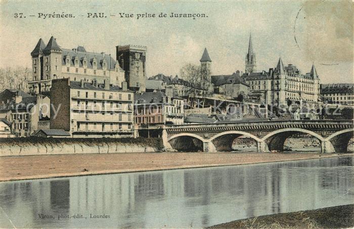 AK / Ansichtskarte Pau Vue prise de Jurancon Pont Pau