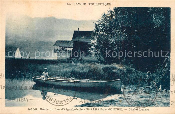AK / Ansichtskarte Saint Alban de Montbel Chalet Luzara Saint Alban de Montbel