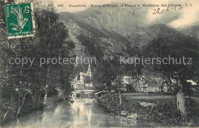 AK / Ansichtskarte Bourg d_Oisans La Rive et la Montagne des Villards Bourg d Oisans